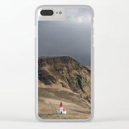 Church in Vik Iceland Clear iPhone Case