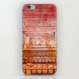Abandoned Silk Mill - Pastel Grunge iPhone Skin