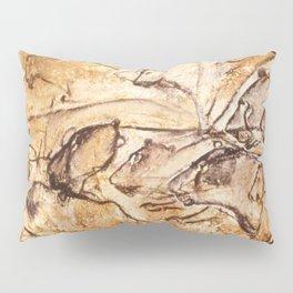 Panel of Lions // Chauvet Cave Pillow Sham