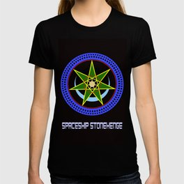 Spaceship Stonehenge 2 T-shirt