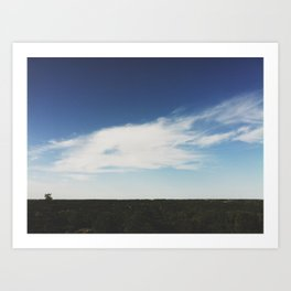 The Horizon Art Print