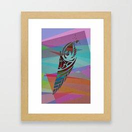 燈火 Framed Art Print