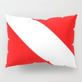 Dive Flag Pillow Sham