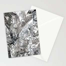 Silver Mylar Balloon Stationery Cards
