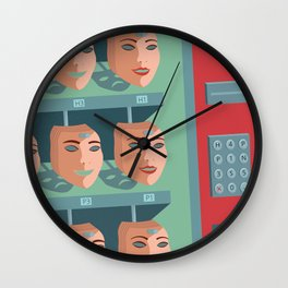 /BUY HAPPINESS/ Wall Clock