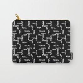MAD TAHI-TEKAU Black 01-10 Carry-All Pouch