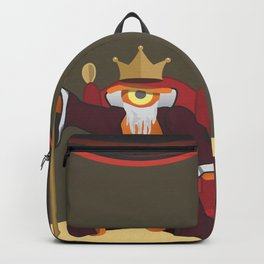 king le[ye]ar Backpack