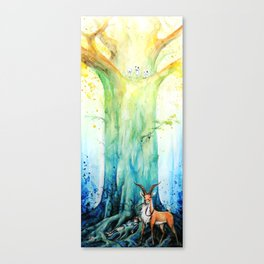 """""""At the tree's feet"""" Canvas Print"""