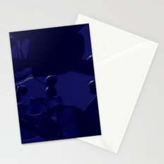 Fall Blue Stationery Cards