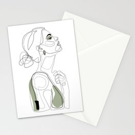 Olive Beauty Stationery Cards