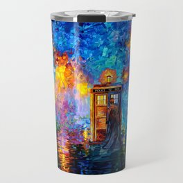 The 10th Doctor Starry The Night Travel Mug