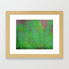 Tropical Fern Framed Art Print