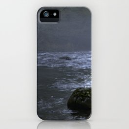 Fog on the Mckenzie River iPhone Case