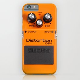 Distortion DS-1 iPhone Case