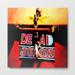 Dead Joblox Metal Print