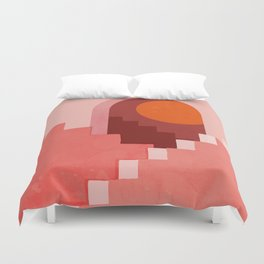 Abstraction_SUN_Architecture_Minimalism_001 Duvet Cover