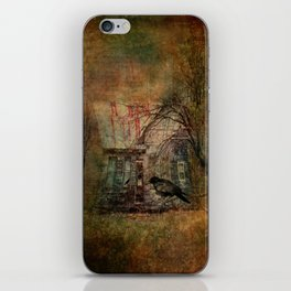 Courting Crow iPhone Skin