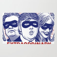 The League of Extraordinary Dimwits Rug