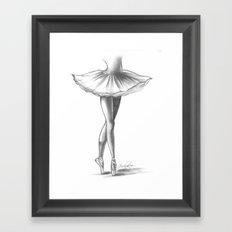Ballerina - Ashley Rose Framed Art Print
