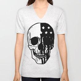 American Psycho Skull Unisex V-Neck