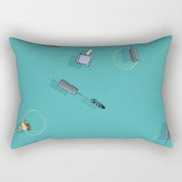 Cosmetic Urgency Rectangular Pillow