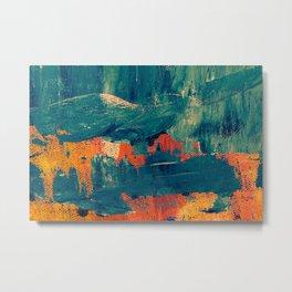 Water color splash Metal Print