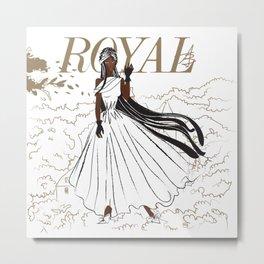 Jewel Royal Metal Print