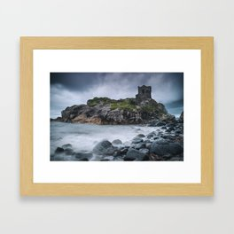Kinbane Castle II Framed Art Print