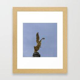 Ángel de la Independencia Framed Art Print
