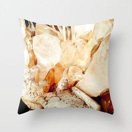 Quartz I Throw Pillow