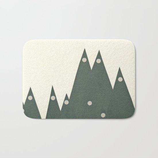 Moonlit Peaks Bath Mat