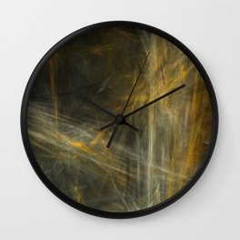A Day in the Hay  (A7 B0193) Wall Clock