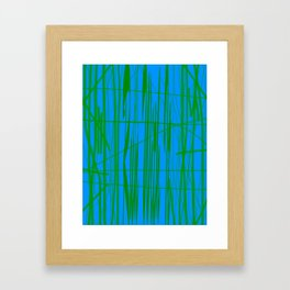 Run With It Framed Art Print