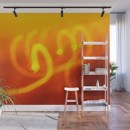 Light trails abstract Wall Mural