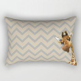 Chevron Giraffe! Rectangular Pillow