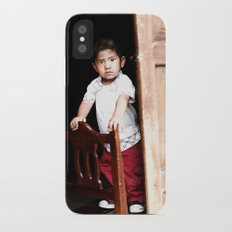 Mexican Boy iPhone X Slim Case