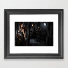 The Survivor Framed Art Print