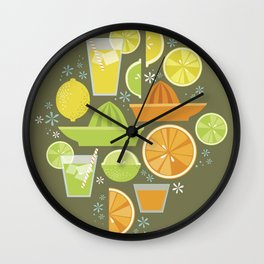 Drink Your Juice Wall Clock