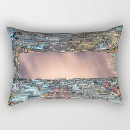 Hong Kong architecture Rectangular Pillow