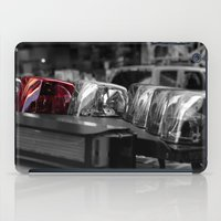 police iPad Cases featuring Police by Michael Andersen