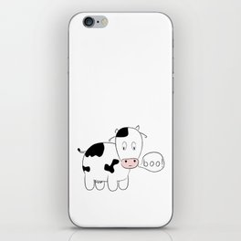 SOLD! Scary Cow - Inspired by a True Incident! iPhone Skin
