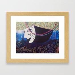 """JC Morgan """"Mardi Gras"""" Framed Art Print"""