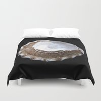 shells Duvet Covers featuring Shells by Jan4insight