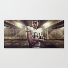 Wide Receiver Canvas Print