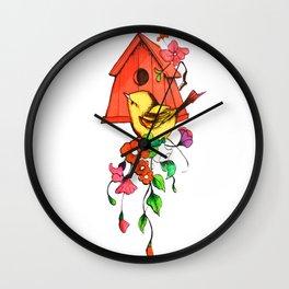 Dulce Hogar Wall Clock