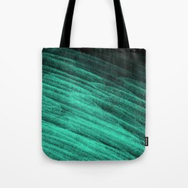 Aqua Step Waves Tote Bag