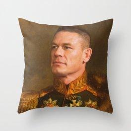 John Cena - replace face Throw Pillow