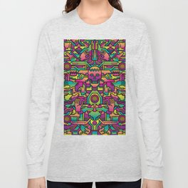 Sci-fi maori Long Sleeve T-shirt