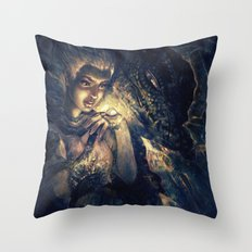 Not Alone Throw Pillow