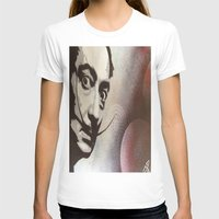 salvador dali T-shirts featuring salvador dali by Joedunnz